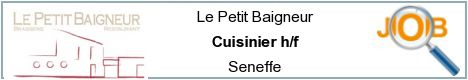 Job offers - Cuisinier h/f - Seneffe