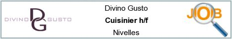 Job offers - Cuisinier h/f - Nivelles