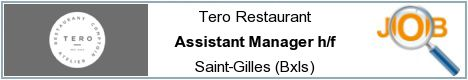 Job offers - Assistant Manager h/f - Saint-Gilles (Bxls)