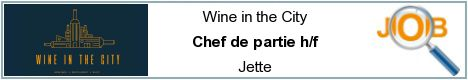 Job offers - Chef de partie h/f - Jette