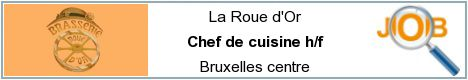 Job offers - Chef de cuisine h/f - Bruxelles centre