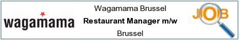 Offres d'emploi - Restaurant Manager m/w - Brussel