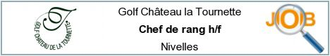 Job offers - Chef de rang h/f - Nivelles