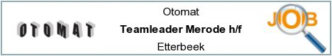 Job offers - Teamleader Merode h/f - Etterbeek