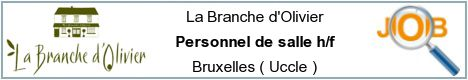 Job offers - Personnel de salle h/f - Bruxelles ( Uccle )