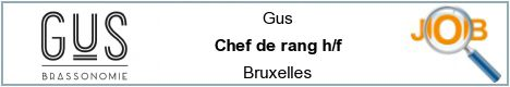Job offers - Chef de rang h/f - Bruxelles