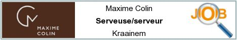 Job offers - Serveuse/serveur - Kraainem