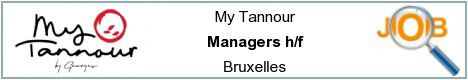 Job offers - Managers h/f - Bruxelles